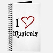 I Love Musicals Journal