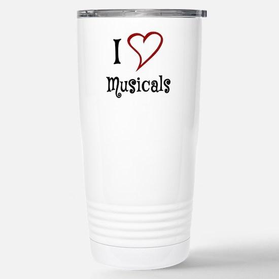 I Love Musicals Travel Mug