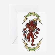 Krampus Yule Be Sorry! Greeting Cards