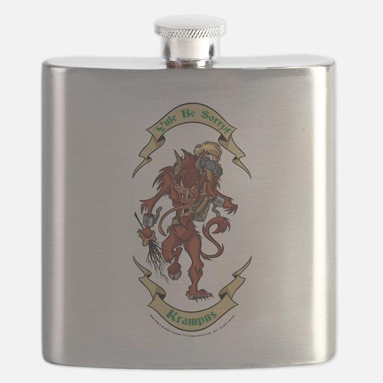 Krampus Yule Be Sorry! Flask