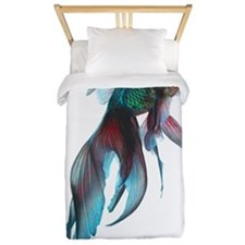 Fancy Betta Fish Twin Duvet