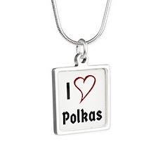 I Love Polkas Necklaces
