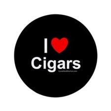 "Cigars 3.5"" Button"