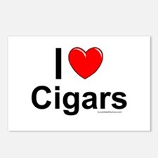 Cigars Postcards (Package of 8)