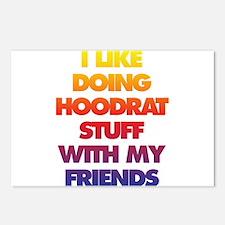 Hood rat Postcards (Package of 8)