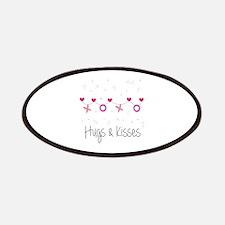 Hugs Kisses Patches