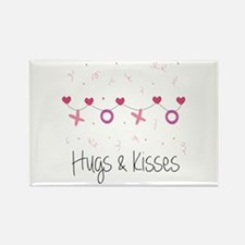 Hugs Kisses Magnets