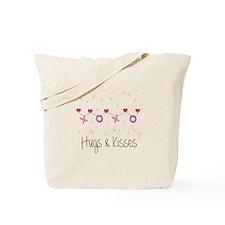 Hugs Kisses Tote Bag