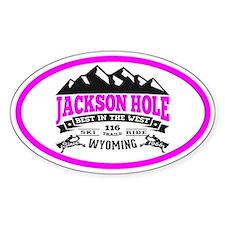 Jackson Hole Vintage Decal