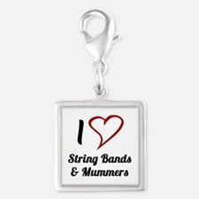 I Love Strings Bands and Mummers Charms