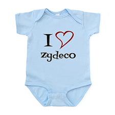 I Love Zydeco Body Suit