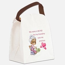 My Name is No No- Canvas Lunch Bag