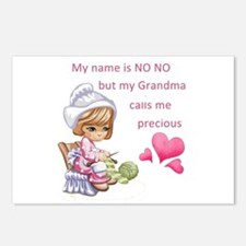 My Name is No No- Postcards (Package of 8)