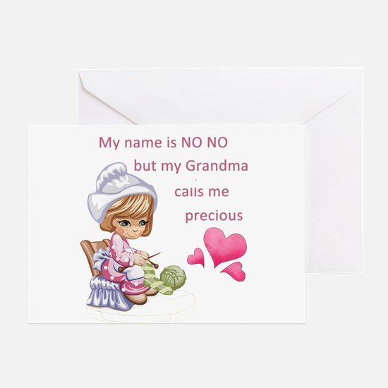 My Name is No No- Greeting Card
