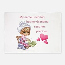My Name is No No- 5'x7'Area Rug