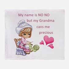 My Name is No No- Throw Blanket