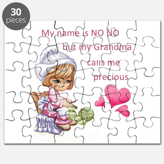 My Name is No No- Puzzle