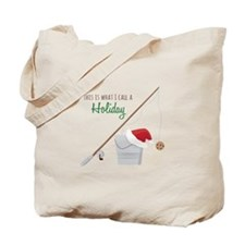 A Holiday Tote Bag