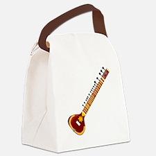 Sitar Canvas Lunch Bag
