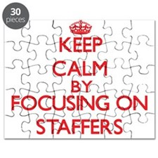 Keep Calm by focusing on Staffers Puzzle