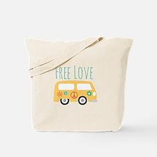 Free Love Tote Bag