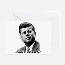 JFK Greeting Card