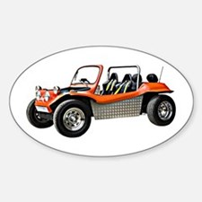 Beach Buggy Oval Decal