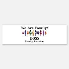 DOSS reunion (we are family) Bumper Bumper Bumper Sticker
