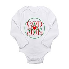 Cute Norwegian Long Sleeve Infant Bodysuit