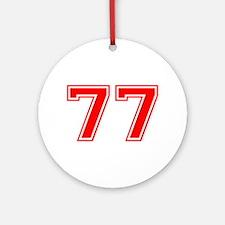 77 Ornament (Round)