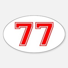 77 Decal
