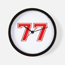 77 Wall Clock