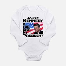 JFK Forever Long Sleeve Infant Bodysuit