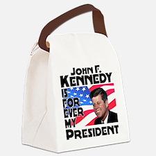 JFK Forever Canvas Lunch Bag