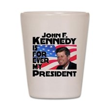JFK Forever Shot Glass