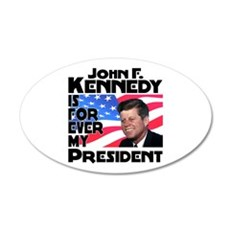 JFK Forever Wall Decal