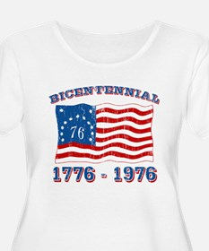 Retro 1776-1976 Flag T-Shirt
