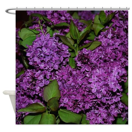 Lilac Shower Curtain By AJHarlanPhotography