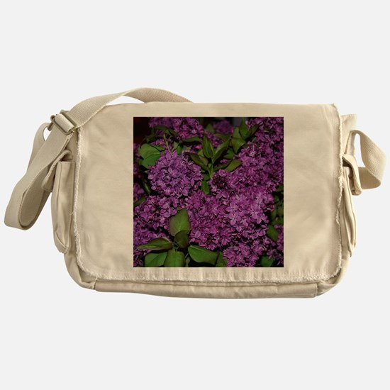 Lilac Messenger Bag