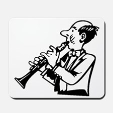Clarinet Player Mousepad