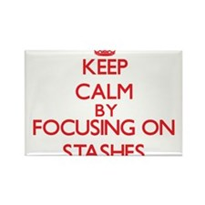 Keep Calm by focusing on Stashes Magnets