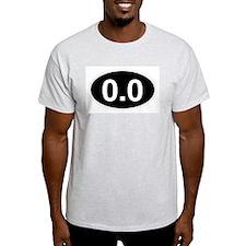 0.0 black T-Shirt