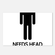 Needs Head Postcards (Package of 8)