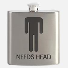 Needs Head Flask