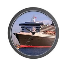 Cruise Ship 2: Queen Mary 2 Wall Clock