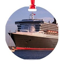 Cruise Ship 2: Queen Mary 2 Ornament