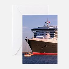 Cruise Ship 2 Greeting Cards