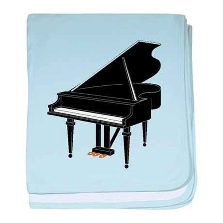 Grand Piano Baby Blanket By Musicalinstruments
