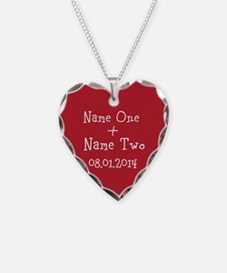 Cute Relationships Necklace Heart Charm