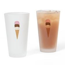 Ice Cream Cone Drinking Glass